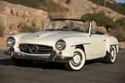 1961 Mercedes-Benz SL-Class 190SL COUPE WREMOVABLE HARDTOP ROADSTER ST